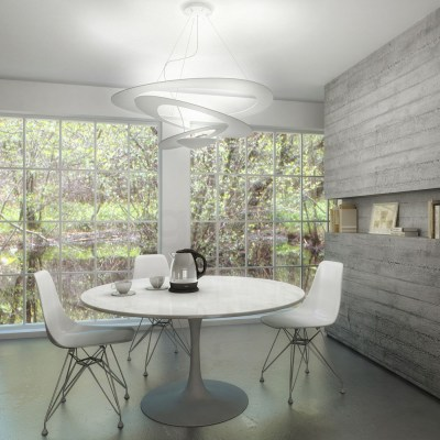 Artemide Pirce Suspension Whiteваа